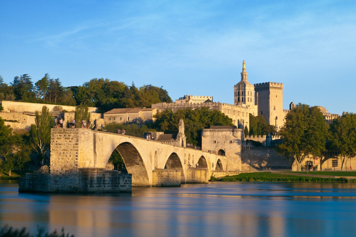 """Pont d'Avignon"" bridge"