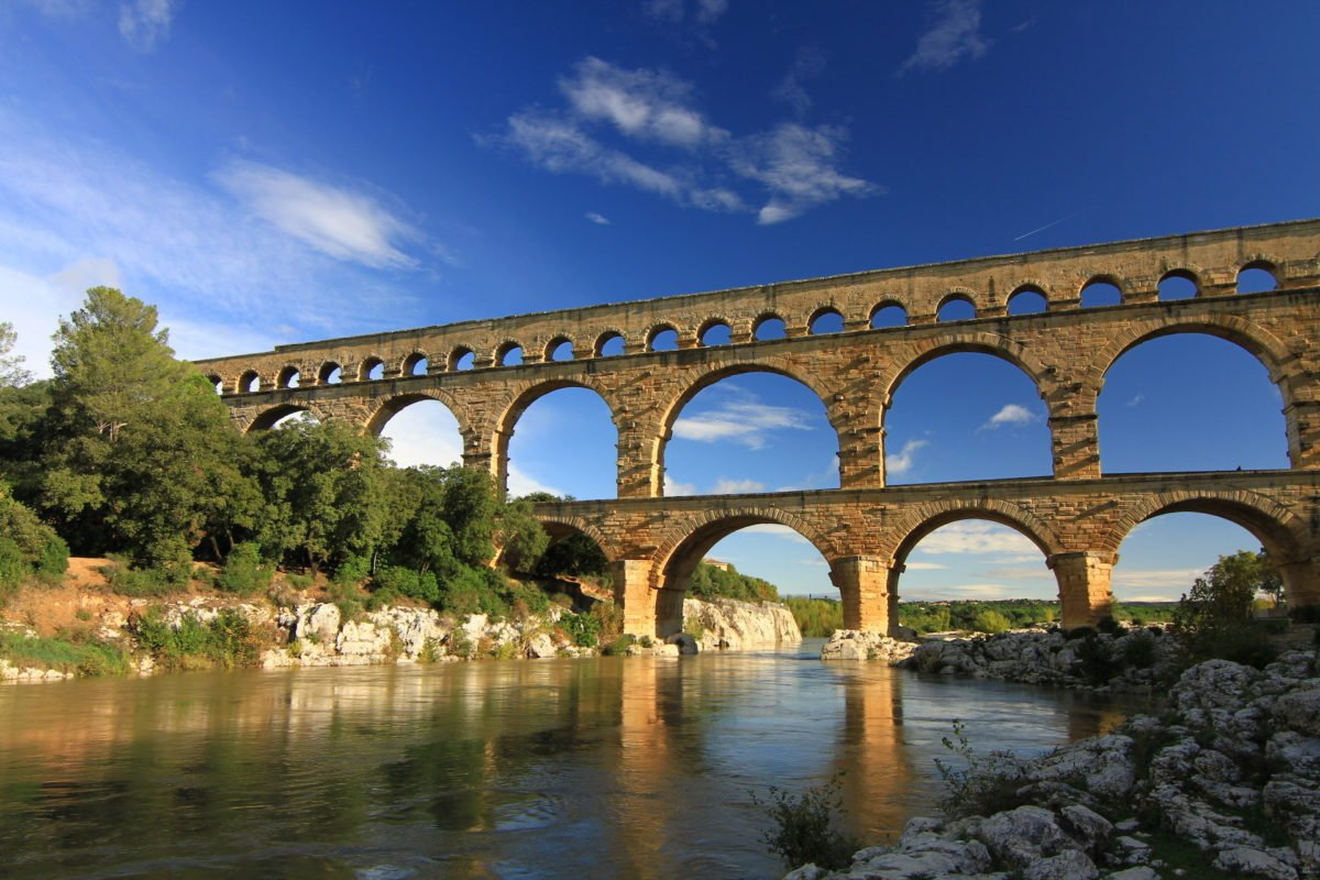 """Pont du Gard"" bridge"